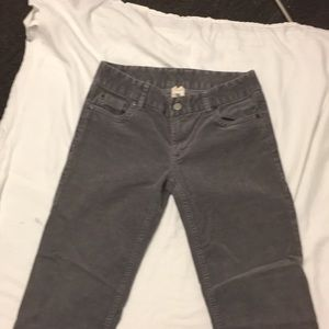 Corduroy j crew jeans